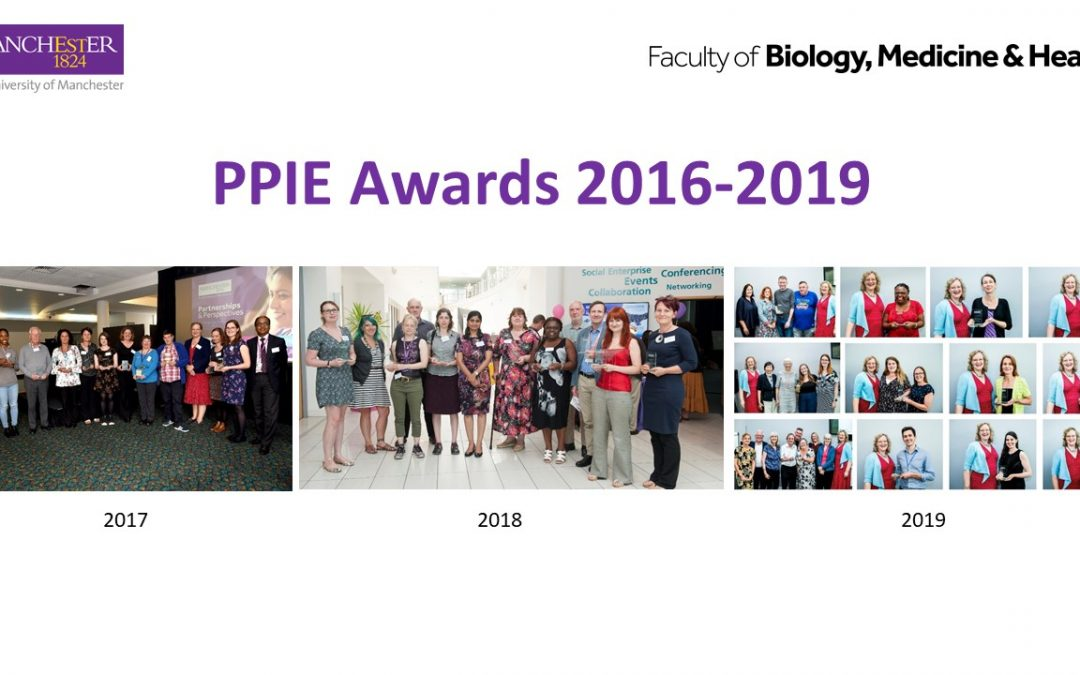 'Outstanding Contribution to PPIE' Awards