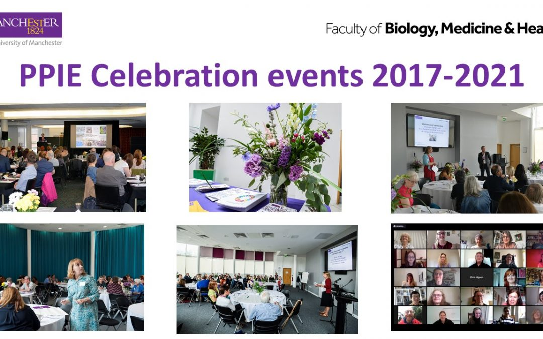 Our PPIE Celebration Events 2017-2021