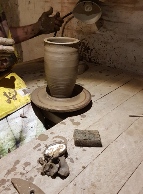 Research Update #4: A Trip to the Potter's Workshop