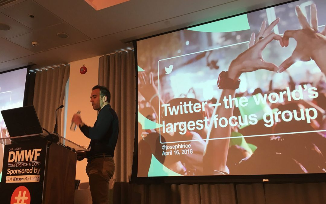 Digital Marketing World Forum, London