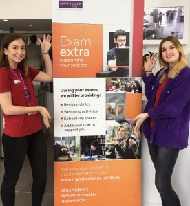Exam Extra Campaign and members of our Student Team