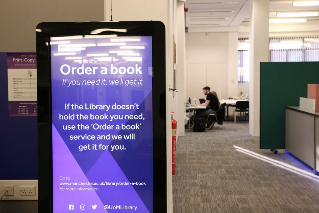 Digital Signage at the Library