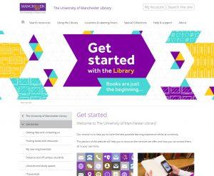 Get Started webpage