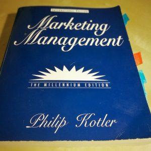 "Philip Kotler's ""Marketing Management"""