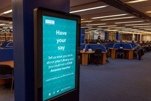 Library survey promoted in the Library