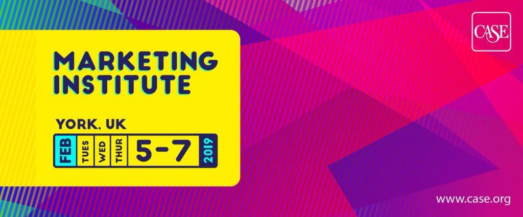 CASE Marketing Institute 2019